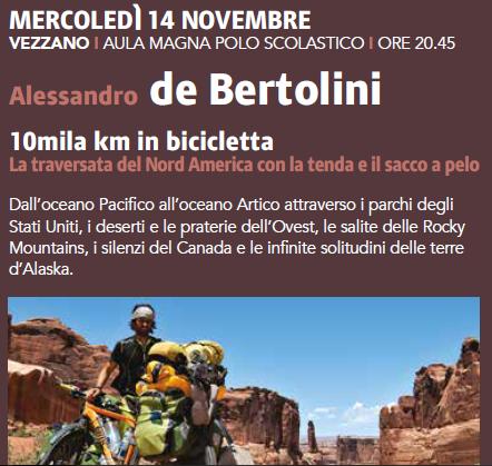 Alessandro DE BERTOLINI - 10mila km in bicicletta