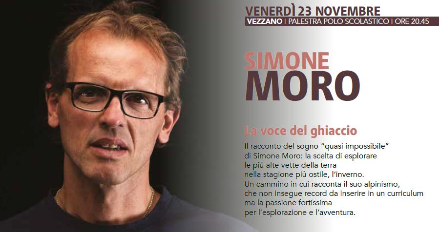 Simone MORO - La voce del ghiaccio